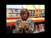 Carme Bayot llegeix el poema en italià